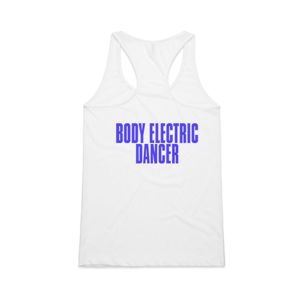 BODY ELECTRIC DANCE LETS GO CRAZY_RACERBACK_WHITE_BACK