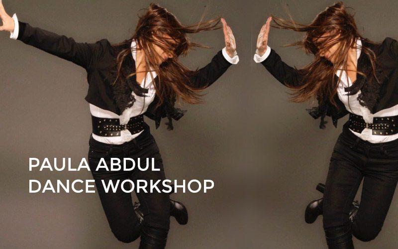 PAULA ABDUL Dance Workshop Jan 23rd