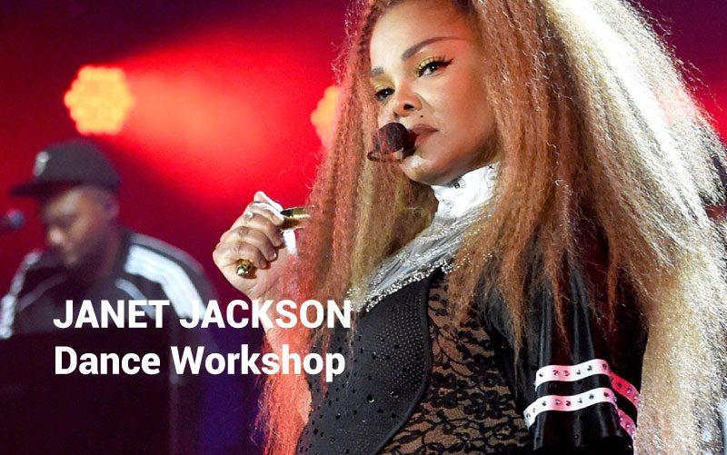 JANET JACKSON Dance Workshop Tuesday 9th July