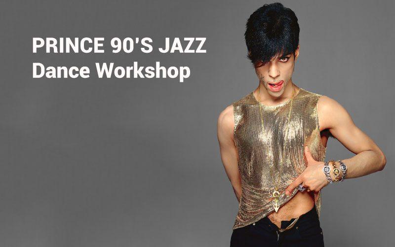 PRINCE 90s JAZZ Workshop Fri 21st June