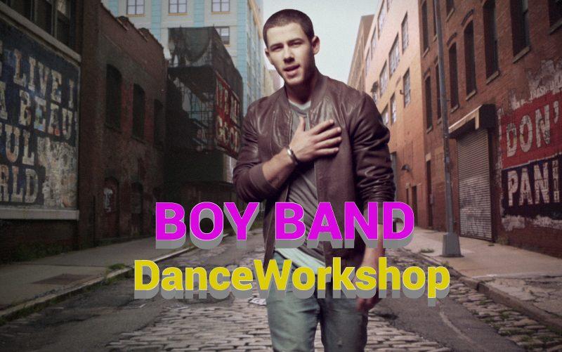 BOY BAND  Dance Workshop Feb 11th