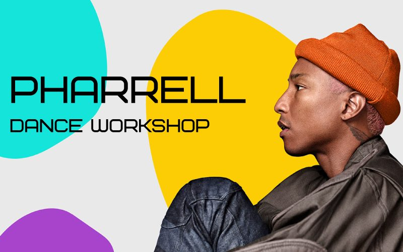 PHARRELL Dance Workshop Wednesday 22nd Jan with Aisha