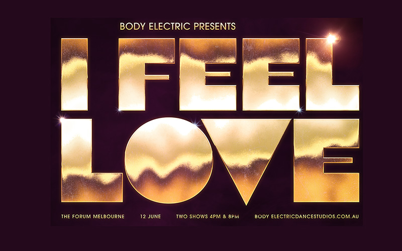 BODY ELECTRIC PRESENTS – I FEEL LOVE at The Forum Melbourne June 12th